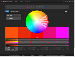 Adobe Color on the Web